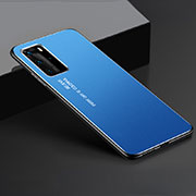 Luxury Aluminum Metal Cover Case T02 for Huawei P40 Pro Blue