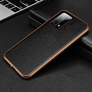 Luxury Aluminum Metal Cover Case T02 for Huawei P40 Pro+ Plus Gold and Black