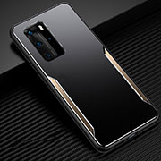 Luxury Aluminum Metal Cover Case T03 for Huawei P40 Pro Gold