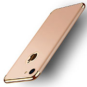 Luxury Metal Frame and Plastic Back Case M02 for Apple iPhone SE (2020) Gold