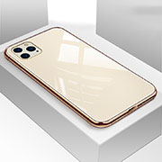 Silicone Frame Mirror Case Cover T05 for Apple iPhone 11 Pro Gold