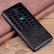 Soft Luxury Leather Snap On Case Cover S02 for Xiaomi Redmi K30 5G Black