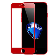 Ultra Clear Full Screen Protector Tempered Glass F18 for Apple iPhone SE (2020) Red