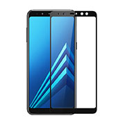 Ultra Clear Full Screen Protector Tempered Glass for Samsung Galaxy A8 (2018) A530F Black