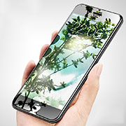 Ultra Clear Tempered Glass Screen Protector Film F07 for Apple iPhone SE (2020) Clear