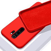 Ultra-thin Silicone Gel Soft Case 360 Degrees Cover C02 for Xiaomi Redmi Note 8 Pro Red