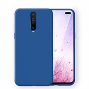 Ultra-thin Silicone Gel Soft Case 360 Degrees Cover S02 for Xiaomi Redmi K30 5G Blue