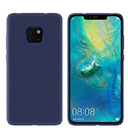 Ultra-thin Silicone Gel Soft Case Cover S03 for Huawei Mate 20 Pro Blue