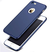 Ultra-thin Silicone Gel Soft Case S07 for Apple iPhone SE (2020) Blue