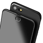 Ultra-thin Silicone Gel Soft Case S08 for Apple iPhone SE (2020) Black
