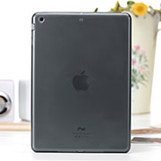Ultra-thin Transparent Gel Soft Cover for Apple iPad Air Gray