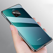 Ultra-thin Transparent TPU Soft Case Cover H03 for Huawei Mate 20 Pro Black