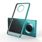 Ultra-thin Transparent TPU Soft Case Cover S01 for Huawei Mate 30 Pro 5G Green