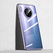 Ultra-thin Transparent TPU Soft Case Cover S04 for Huawei Mate 30 Pro 5G Purple