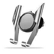 Universal Car Air Vent Mount Cell Phone Holder Stand A06 Silver