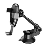 Universal Car Suction Cup Mount Cell Phone Holder Cradle H10 Black