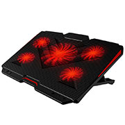 Universal Laptop Stand Notebook Holder Cooling Pad USB Fans 9 inch to 17 inch L02 for Apple MacBook Pro 13 inch Black