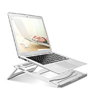 Universal Laptop Stand Notebook Holder S03 for Apple MacBook Pro 13 inch Silver