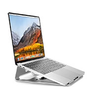 Universal Laptop Stand Notebook Holder S04 for Apple MacBook Pro 15 inch Silver
