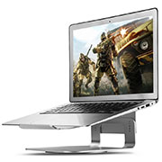 Universal Laptop Stand Notebook Holder S16 for Apple MacBook Pro 15 inch Retina Silver