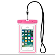 Universal Waterproof Cover Dry Bag Underwater Pouch W16 Pink