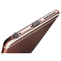 Anti Dust Cap Lightning Jack Plug Cover Protector Plugy Stopper Universal J02 for Apple iPad Pro 11 (2018) Black