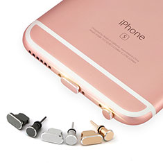 Anti Dust Cap Lightning Jack Plug Cover Protector Plugy Stopper Universal J04 for Apple iPad Air 10.9 (2020) Rose Gold