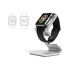 Charger Stand Holder Charging Docking Station C01 for Apple iWatch 3 42mm Silver