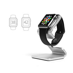 Charger Stand Holder Charging Docking Station C01 for Apple iWatch 5 44mm Silver