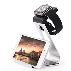 Charger Stand Holder Charging Docking Station C02 for Apple iWatch 3 38mm Silver