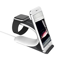 Charger Stand Holder Charging Docking Station C05 for Apple iWatch 5 44mm Silver