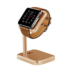 Charger Stand Holder Charging Docking Station for Apple iWatch 3 42mm Gold