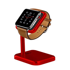 Charger Stand Holder Charging Docking Station for Apple iWatch 3 42mm Red