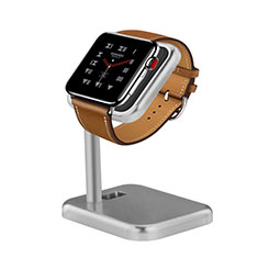 Charger Stand Holder Charging Docking Station for Apple iWatch 3 42mm Silver