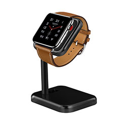 Charger Stand Holder Charging Docking Station for Apple iWatch 5 44mm Black
