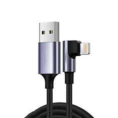 Charger USB Data Cable Charging Cord C10 for Apple iPhone SE (2020) Black