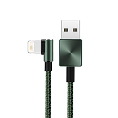 Charger USB Data Cable Charging Cord D19 for Apple iPhone X Green