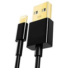 Charger USB Data Cable Charging Cord L12 for Apple iPhone 12 Black