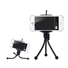 Extendable Folding Handheld Selfie Stick Tripod Bluetooth Remote Shutter Universal S25 for Apple iPhone X Black