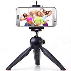 Extendable Folding Handheld Selfie Stick Tripod Bluetooth Remote Shutter Universal T05 for Apple iPhone X Black