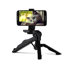 Extendable Folding Handheld Selfie Stick Tripod Bluetooth Remote Shutter Universal T06 for Apple iPhone X Black
