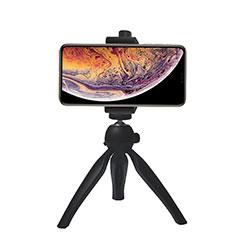 Extendable Folding Handheld Selfie Stick Tripod Bluetooth Remote Shutter Universal T07 for Apple iPhone X Black