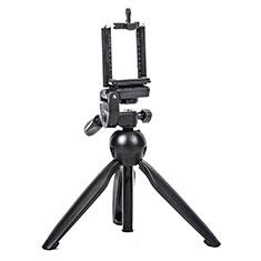 Extendable Folding Handheld Selfie Stick Tripod Bluetooth Remote Shutter Universal T08 for Apple iPhone X Black