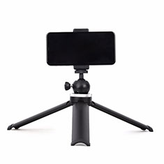 Extendable Folding Handheld Selfie Stick Tripod Bluetooth Remote Shutter Universal T14 for Apple iPhone X Black
