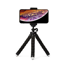 Extendable Folding Handheld Selfie Stick Tripod Bluetooth Remote Shutter Universal T16 for Apple iPhone X Black
