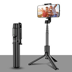 Extendable Folding Handheld Selfie Stick Tripod Bluetooth Remote Shutter Universal T28 Black