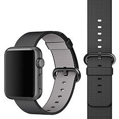 Fabric Bracelet Band Strap for Apple iWatch 3 42mm Black