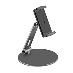 Flexible Tablet Stand Mount Holder Universal K10 for Samsung Galaxy Tab S7 Plus 5G 12.4 SM-T976 Black