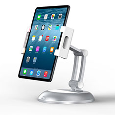 Flexible Tablet Stand Mount Holder Universal K11 for Samsung Galaxy Tab S7 Plus 5G 12.4 SM-T976 Silver