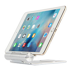 Flexible Tablet Stand Mount Holder Universal K14 for Apple iPad 3 Silver